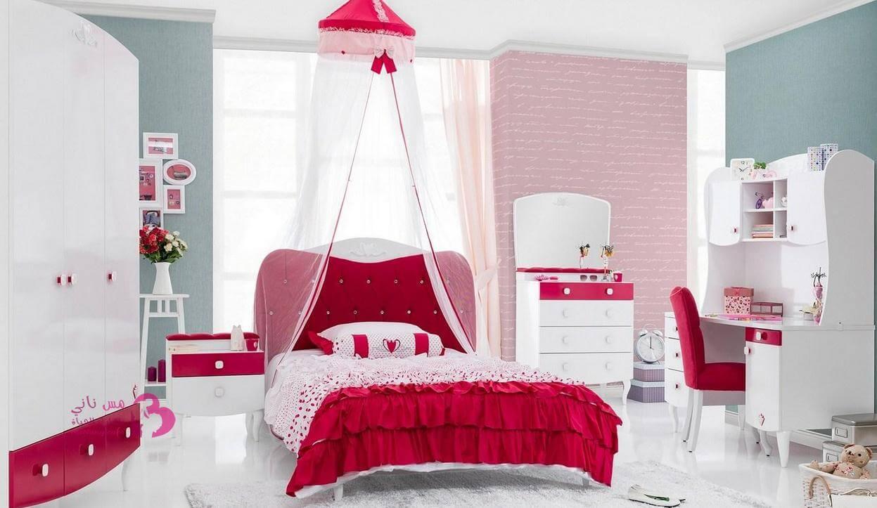 بالصور ديكورات غرف نوم بنات , اجمل ديكورات غرف النوم 2251 11