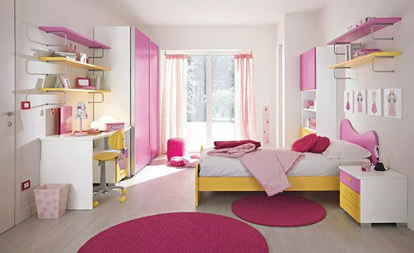 بالصور ديكورات غرف نوم بنات , اجمل ديكورات غرف النوم 2251 3