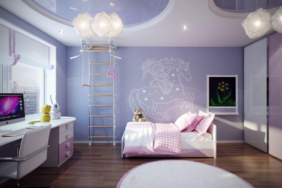 بالصور ديكورات غرف نوم بنات , اجمل ديكورات غرف النوم 2251 4