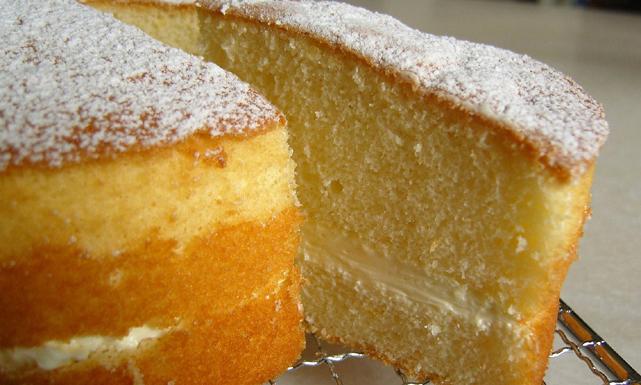 بالصور عمل كيكة اسفنجية , طريقة عمل الكيكة الاسفنجيه 2469 1