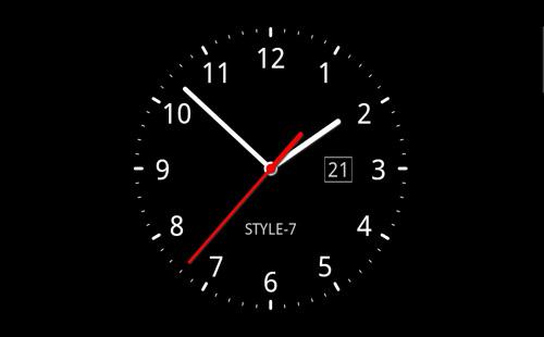 بالصور ساعة خلفية , اشكال مختلفه من ساعات الخلفيات 2781 4