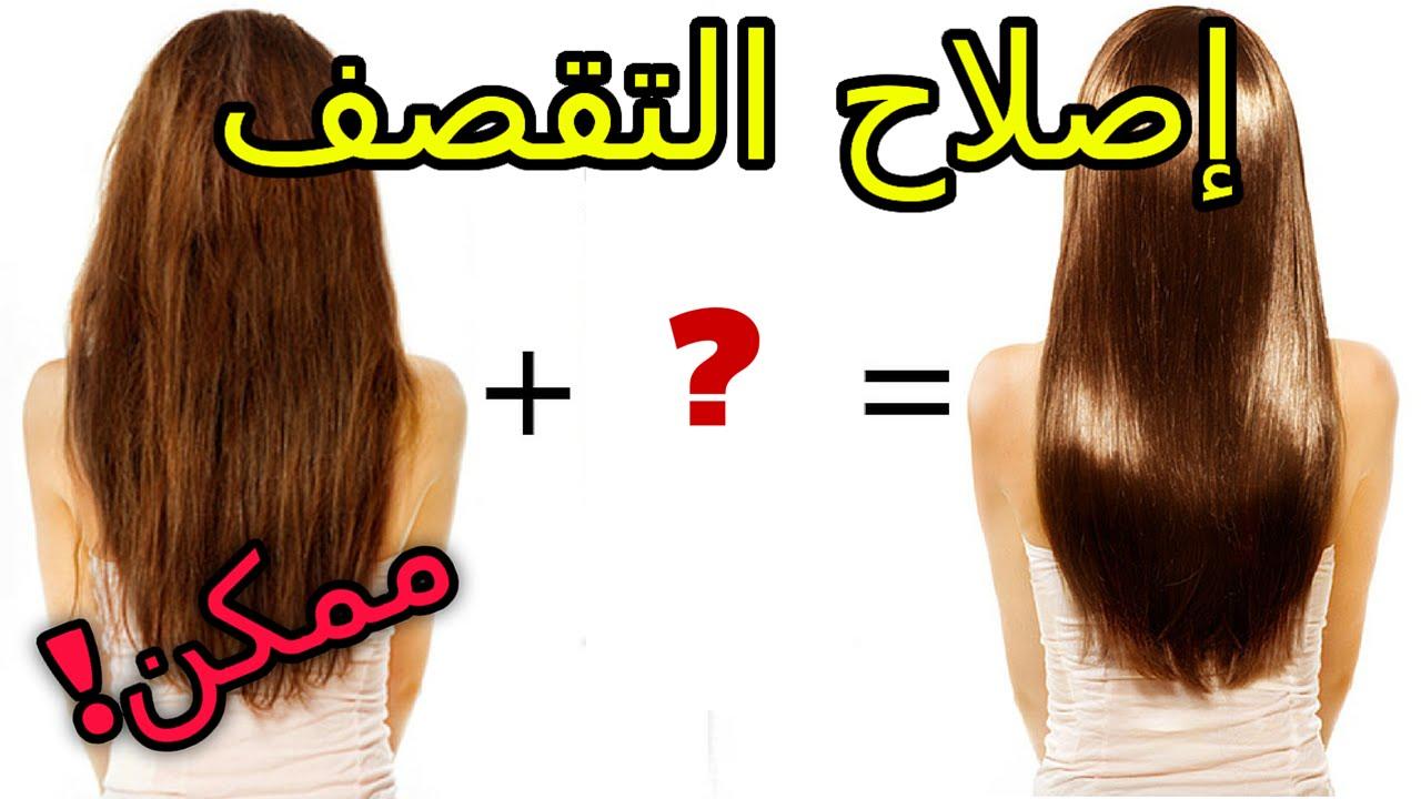بالصور علاج تقصف الشعر , افضل الطرق للتخلص من وعلاج تقصف الشعر 2921 2