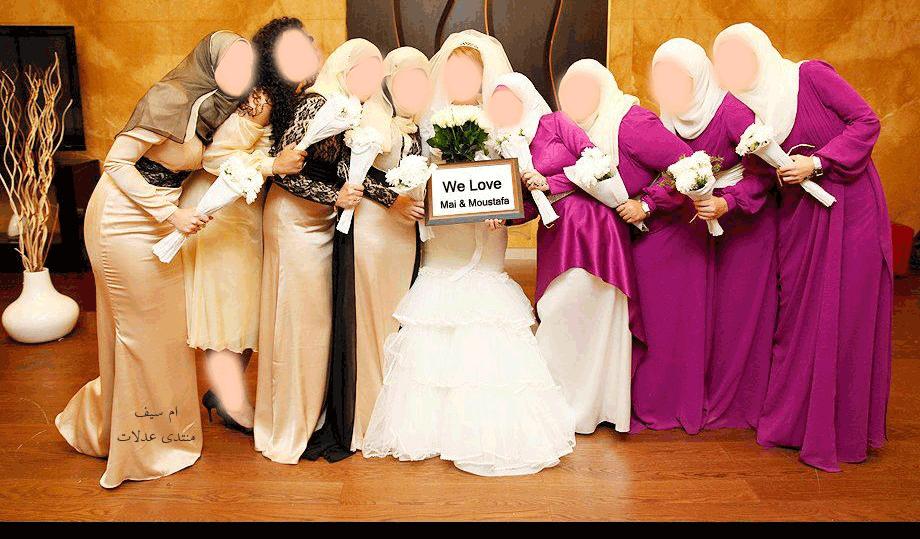 بالصور صور صاحبة العروسة , صديقة العروسه 3353