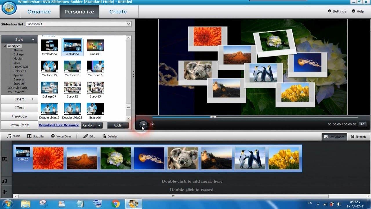 بالصور عمل فيديو بالصور , طريقة عمل فيديو بالصور 3443 1