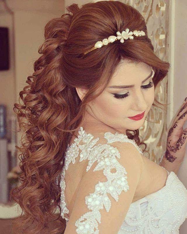 بالصور تسريحات عرايس , تسريحة شعر للعروسه 3481 3