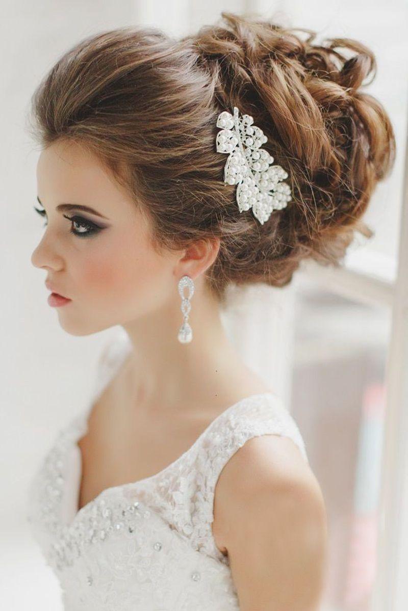 بالصور تسريحات عرايس , تسريحة شعر للعروسه 3481 4