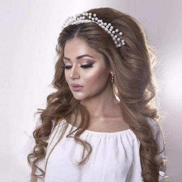 بالصور تسريحات عرايس , تسريحة شعر للعروسه 3481 5