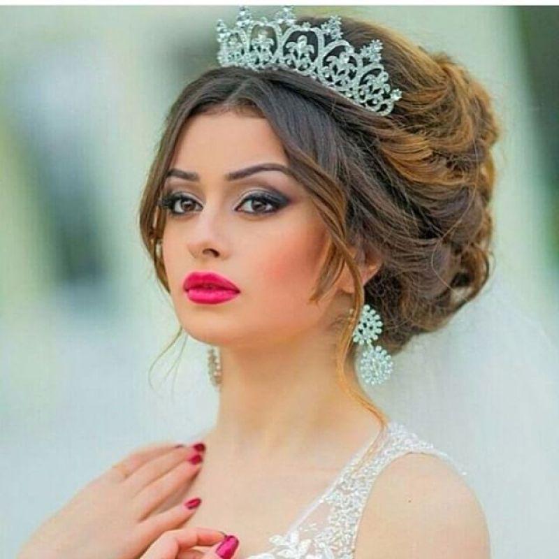 بالصور تسريحات عرايس , تسريحة شعر للعروسه 3481 8