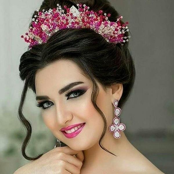 بالصور تسريحات عرايس , تسريحة شعر للعروسه 3481 9