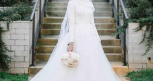 صور فساتين زفاف للمحجبات , فساتين افراح