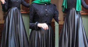 صوره ملابس محجبات تركية , اشيك لباس محجبات تركيه
