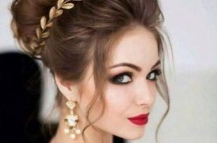 صورة تسريحات شعر عروس , اجمل تسريحات شعر للعرائس