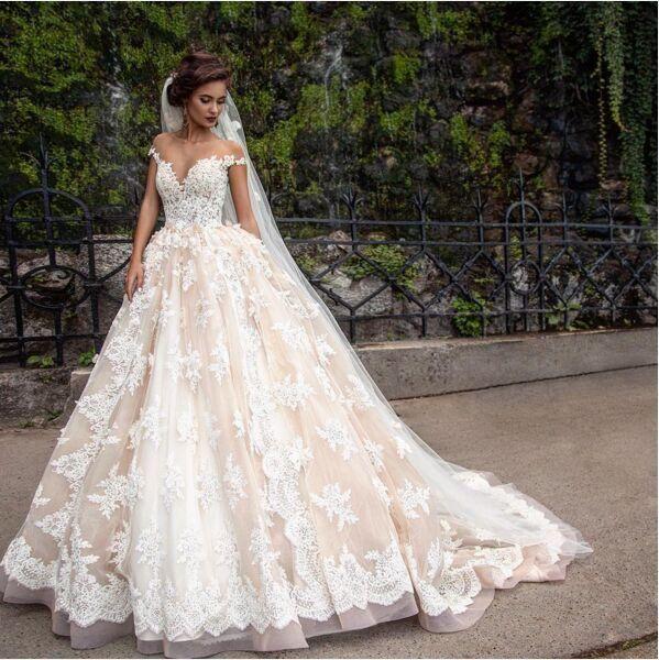بالصور فساتين عرايس فخمه , افخم فستان عروسه يجنن 4398 5
