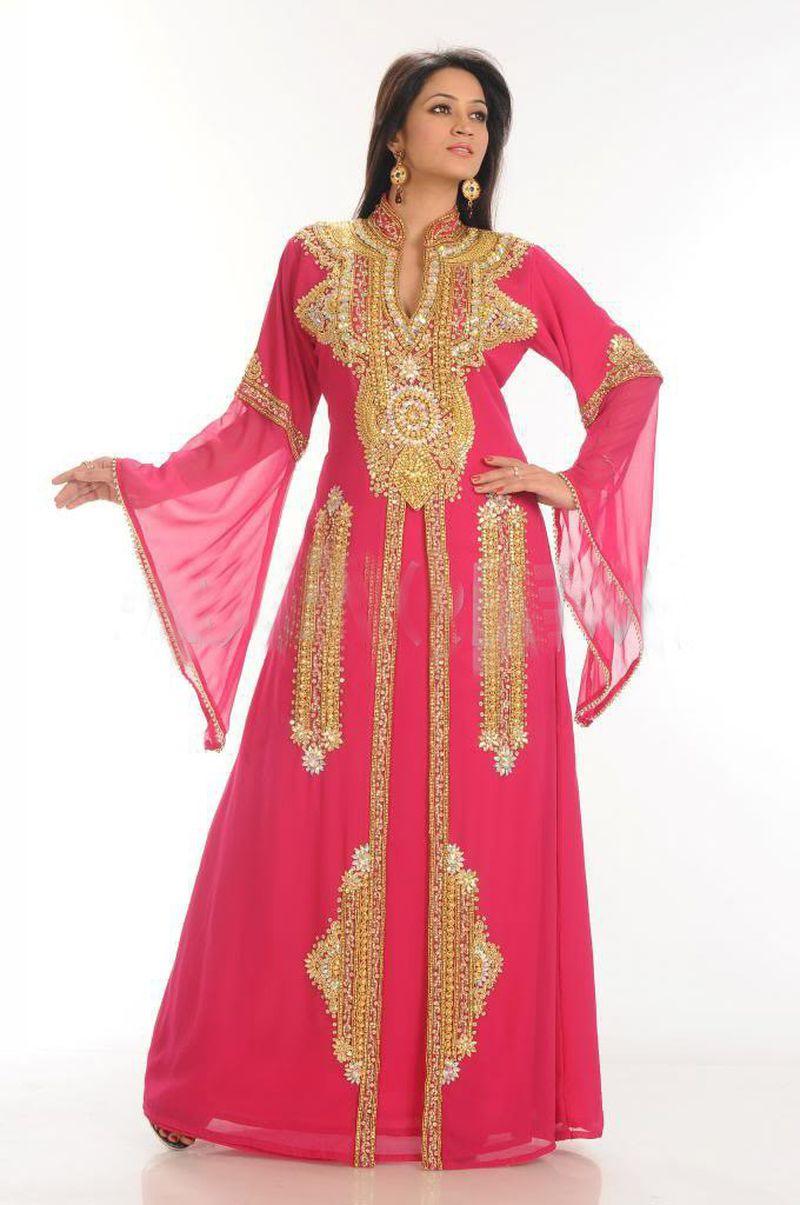 صورة عبايات مغربية , اجمل الازواق من العبايات المغربيه 1396 7