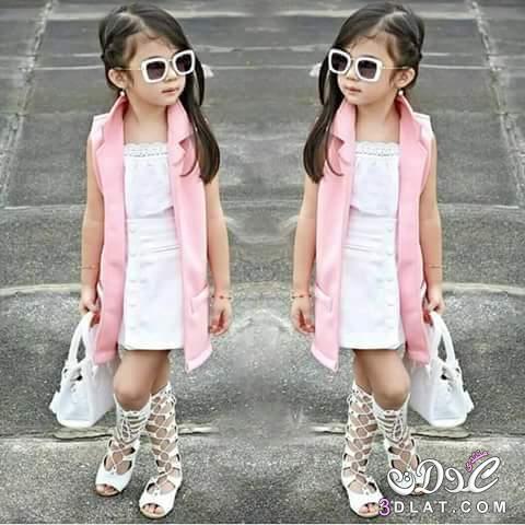 صورة ملابس بنات اطفال , اجمل واحدث ملابس بنات صيفي