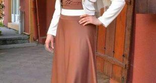 صورة موديلات حجابات جزائرية مخيطة , اجمل موديلات حجابات