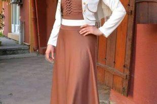 صور موديلات حجابات جزائرية مخيطة , اجمل موديلات حجابات