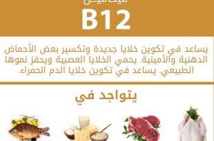 صوره فيتامين b12 , اهم فوائد فيتامين b12