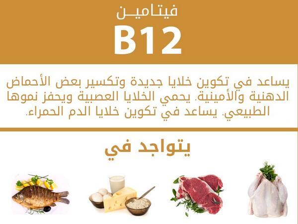 بالصور فيتامين b12 , اهم فوائد فيتامين b12 3858