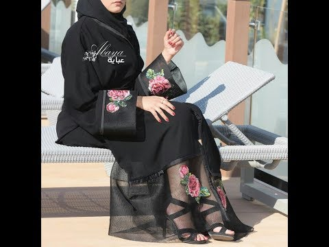 صورة عباية اماراتية , صور تظهر جمال العبايات الاماراتية 3863 2
