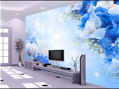 صورة اشكال ورق جدران , احدث اشكال ورق ال 3D للجدران