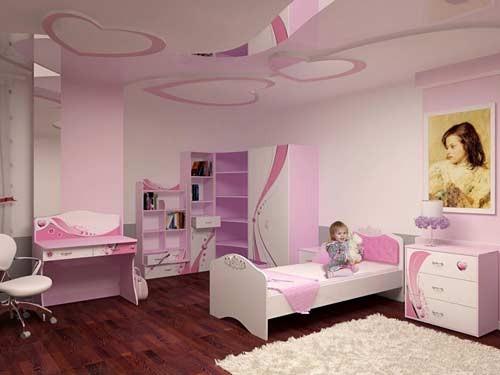 صور ديكورات جبس غرف نوم اطفال , احلي صور لديكور جبس لغرف نوم الاطفال
