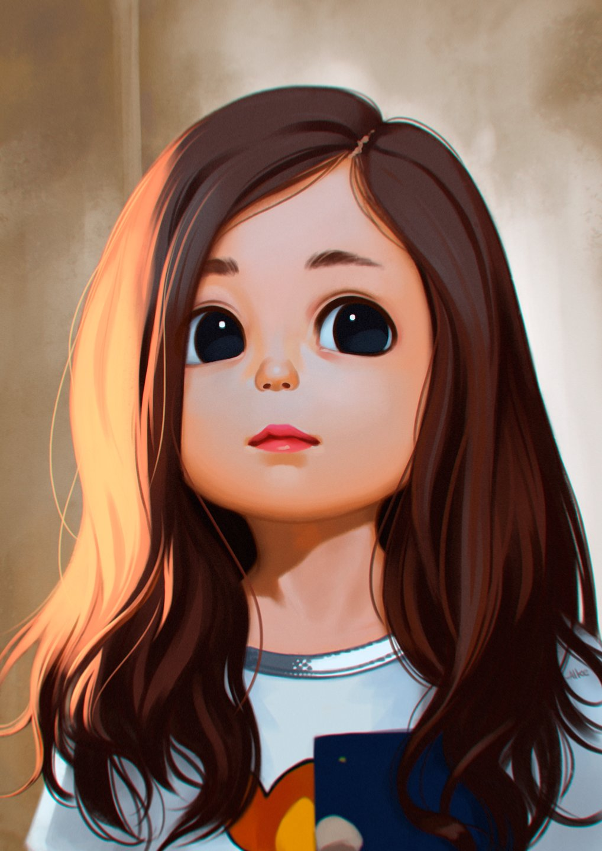 صورة بنات كيوت كرتون , اجمل صور لبنات كيوت كرتون 4379 2