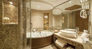 صوره حمامات فنادق , اجمل تصميم لحمام فندق