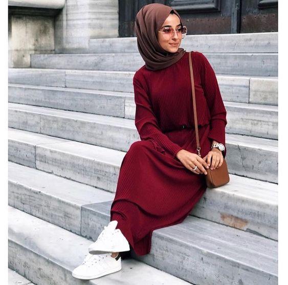 3f90cacd6bdac صور ملابس محجبات 2019