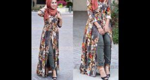 صوره ملابس محجبات 2018 , لباس محجبات صيف 2018