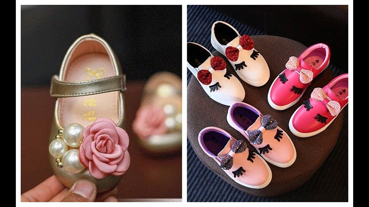 بالصور احذية اطفال بنات , احدث احذيه روعه للبنات 1079 8