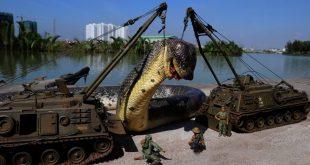 صور اكبر ثعبان في العالم , معلومة عن عثور الجيش علي اكبر ثعبان في العالم