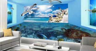 صوره ورق جدران غرف نوم , ثلاثي الابعاد في قمة الروعة والجمال