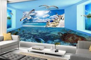 بالصور ورق جدران غرف نوم , ثلاثي الابعاد في قمة الروعة والجمال 1946 11 310x205