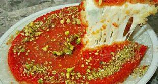 صوره كنافة ناعمة , طريقة عمل الكنافة الناعمة بالجبنة