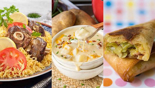 صورة اكلات رمضان منال العالم , طريقة عمل اكلات لكفتة بالجبنة في قمة الروعة 1989 1