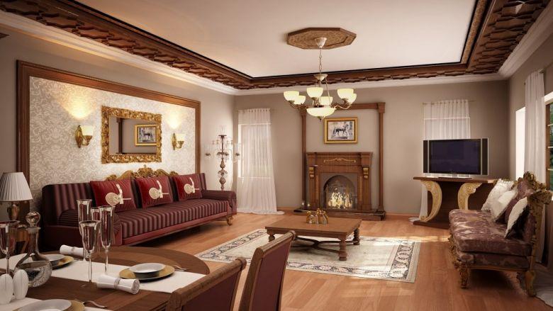 بالصور ديكورات منازل من الداخل , احدث واشيك اشكال الديكور الداخلي للمنزل 2061 3