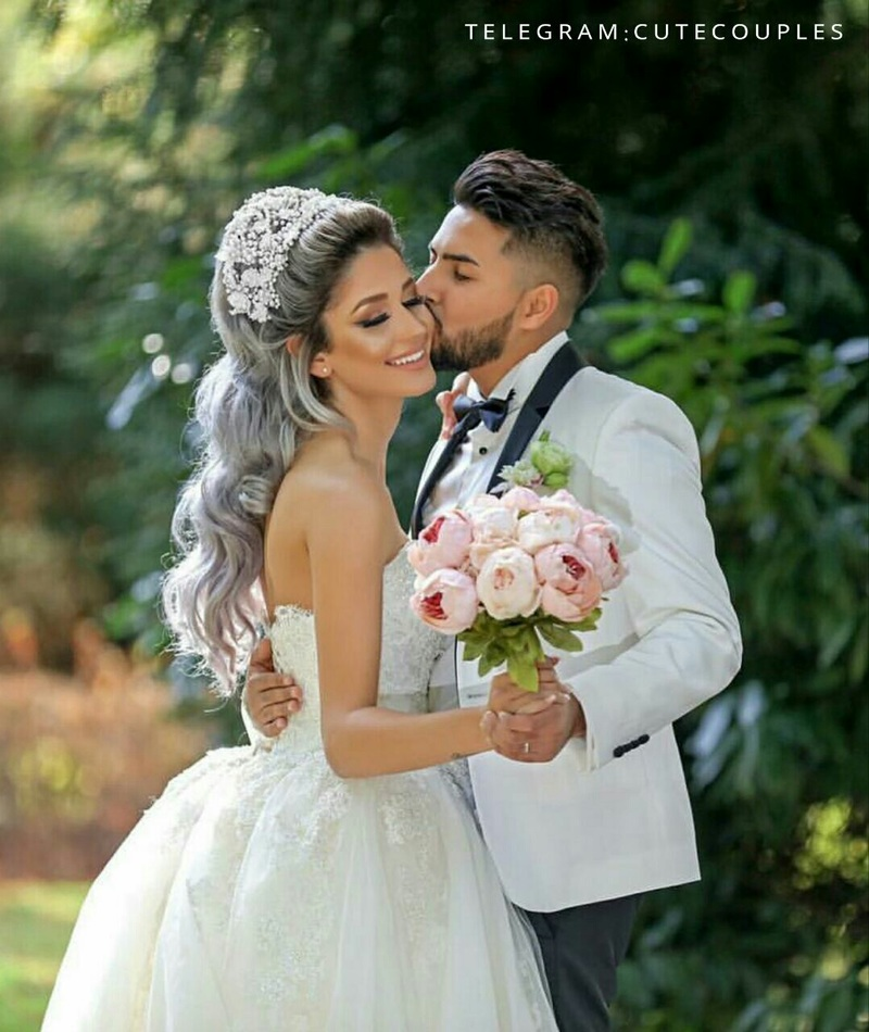 بالصور صور عرسان حلوه , اجمل لقطات لصور عرسان روعة في زفافهم 2131 7