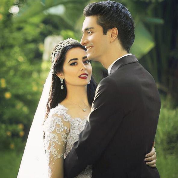 بالصور صور عرسان حلوه , اجمل لقطات لصور عرسان روعة في زفافهم 2131