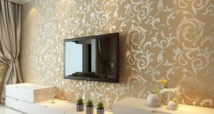 صورة ورق جدران فخم , اشكال متنوعة من ورق الجدران المميز