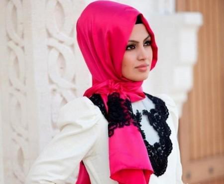 بالصور بنات محجبات على الفيس بوك , اشكال وطرق لف الحجاب بانواعه 3987 9