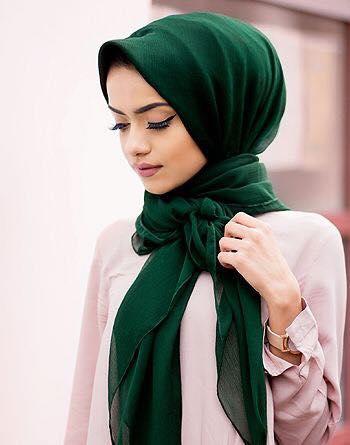بالصور بنات محجبات على الفيس بوك , اشكال وطرق لف الحجاب بانواعه 3987