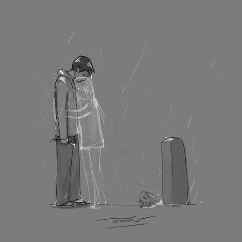 بالصور كلمات حزينة عن الفراق , صور مكتوب عليها موت الحبيب 4004 4