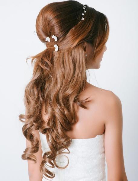 بالصور تساريح للشعر الطويل , الفرق بين انواع الشعر 4032