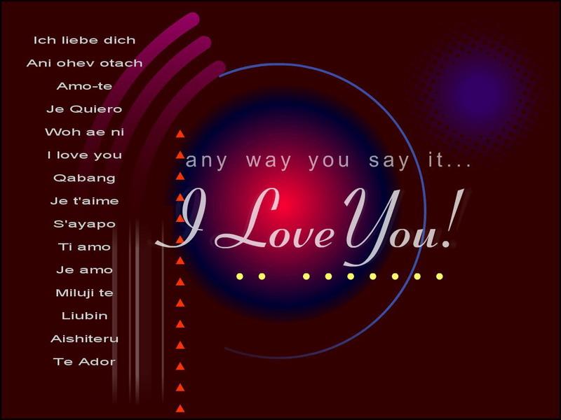 بالصور كلمة بحبك , صور بحبك بكل اللغات 4182