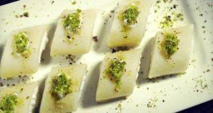 صوره طريقة عمل حلاوة الجبن , الذ حلاوة بالجبنة العكاوى السورية