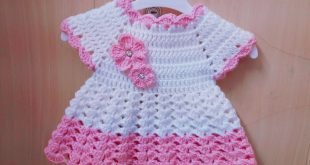 بالصور فساتين كروشيه , اجمل فستان كروشية اطفال 4529 12 310x165
