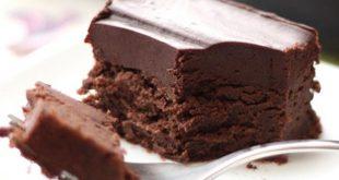 بالصور طريقة عمل الكيك بالشوكولاتة سهلة , اسهل طرق عمل كيك الشكولاته روعه 4555 3 310x165