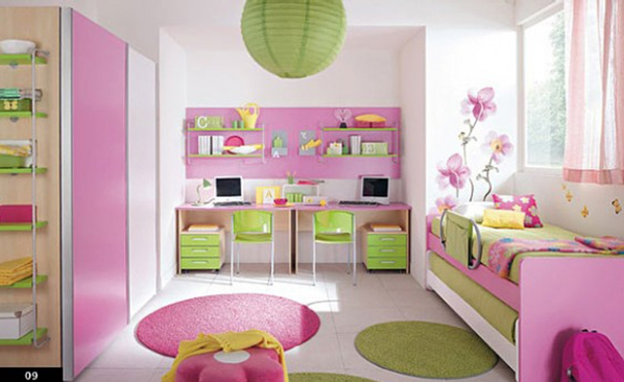 صوره صور غرف نوم بنات , اجمل غرفة نوم بنات 2018