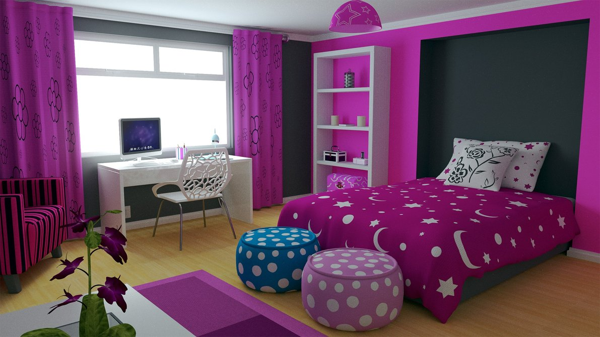 بالصور صور غرف نوم بنات , اجمل غرفة نوم بنات 2019 4563 3
